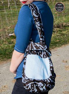 Kostenlose Nähanleitung Knotentasche - True Fabrics - Stoffe online kaufen