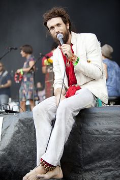 Call me crazy if you wish. But I think Alex Ebert is attractive.  Edward Sharpe and the Magnetic Zeros