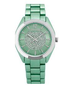 5fe3a249d1 SO & CO | Light Green SoHo 5096A Bracelet Watch