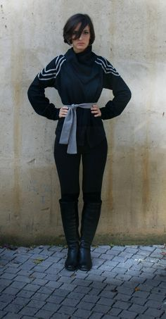Sexy black jacket by Barzelai on Etsy, $74.00