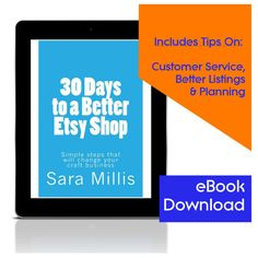 30 Days to a Better Etsy Shop  Simple steps to by MyIndieLifeBlog