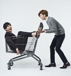 Park Ki Woong and No Min Woo