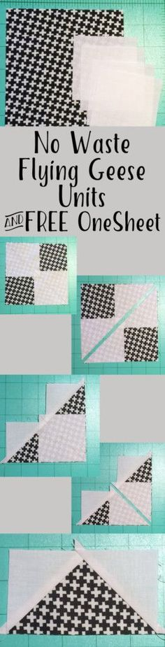 All the details on making no waste flying geese, and how to customize to fit your quilt! AmysCreativeSide.com