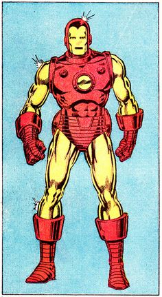 Iron Man by Mark Bright