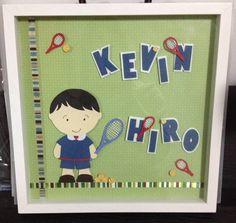 Enfeite para porta de Maternidade - Tema: Tênis (Kevin Hiro) #enfeitematernidade #babytennis