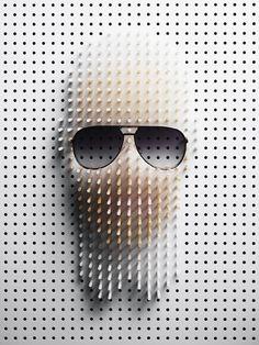 Pin Art Karl Lagerfeld