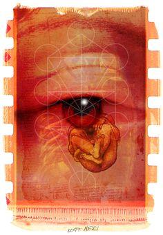 LA NIÑA DE MIS OJOS POR SCOTT NERI/ ARTE DIGITAL/ ©2006