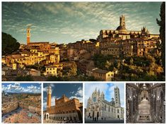 Photo of the wonderful city of #Siena in #Tuscany. It's an #UNESCO World Heritage Centre. #art #nature #italy