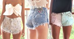 Reminds me of Love & Hip Hop when Chrissy referred to Kimbella's shorts as jean panties...lol