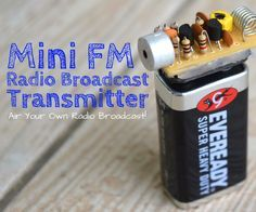 The Ultimate FM Transmitter (Long Range Spybug) - Simple DIY projects Radios, Electrical Projects, Electrical Engineering, Arduino Projects, Electronics Projects, Electronics Gadgets, Diy Tech, 3d Cnc, Ham Radio