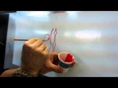 how to make symetrical pinstriping designs, Part 4 - YouTube