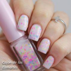 Glitter neón para nail art y resistente al solvente - Born pretty store @bornprettynails #neon #notd