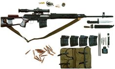 Dragunov dot net - Russian Izhmash Dragunov SVD page.