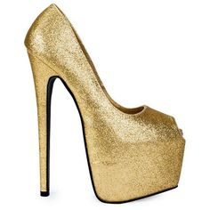 Available in more colors. Sparkly Heels, Sky High, Peeps, Stiletto Heels, Peep Toe, Shoes, Colors, Fashion, Moda