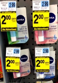 Nivea Lip Balm ONLY $0.99 At Rite Aid {$0.39 With Gold Discount}! - DEAL MAMA
