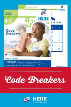 Code Breakers—In this Grade 4-5 lesson, students learn about germs via codes. The culminating challenge is perfect to send home, and it reveals a message that reinforces good hygiene. Hint: Wash your hands!