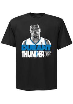 Oklahoma City (OKC) Thunder #35 Kevin Durant Game Face Black Player T-Shirt http://www.rallyhouse.com/shop/oklahoma-city-thunder-majestic-oklahoma-city-thunder-mens-kevin-durant-photo-tshirt-17254403?utm_source=pinterest&utm_medium=social&utm_campaign=Pinterest-OKCThunder $22.00