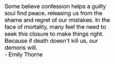 Emily Thorne Quote Pt. 2 Episode: Confession #Revenge