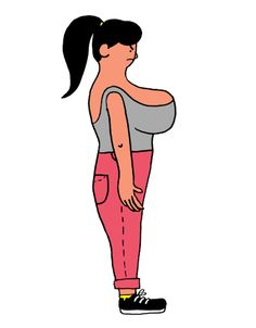 Illustrated GIFs fight back against body shaming