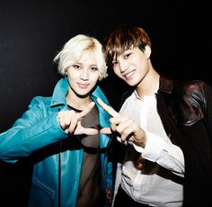 """It has been announced that close friends SHINee's Taemin and EXO's Kai are coming together for a very special collaboration stage at the 2014 MBC Gayo Daejun! On December 30, a rep of MBC shared, """"Taemin and Kai are currently preparing an impressive performance for the December 31 broadcast of the 2..."""