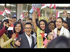 Ariska Putri Pertiwi receives a Grand Welcome in Indonesia | Angelopedia