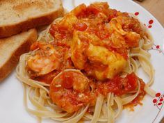 Chicken and Shrimp with Pasta