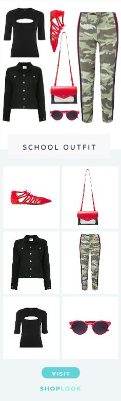 Chic Camo Print created by shortyluv718 on ShopLook.io perfect for School. Visit us to shop this look.