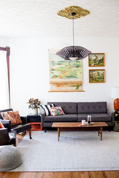 Sarah's Living Room (Before + After!) | A Beautiful Mess
