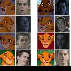 The many faces of Stiles (: