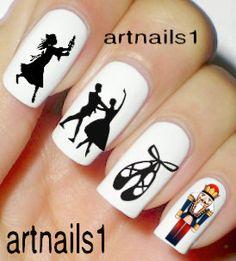 Christmas Nutcracker Ballet Nail Art Nails Polish by artnails1