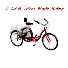 Trikes provide a more relaxing ride than bikes, and if you get a recumbent trike, it's less stressful on your joints and your back than a bike.  Of course, like bicycles, trikes are available in all price ranges.  Here are a wide range of trike styles for you to peruse.   ... see more at InventorSpot.com