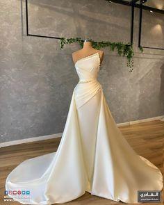 Gala Dresses, Prom Party Dresses, Event Dresses, Bridal Dresses, Cream Colored Wedding Dress, White Wedding Dresses, Wedding Gowns, Civil Wedding, Flare