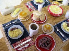 Country Breakfast - 2 - Pamela J Minis