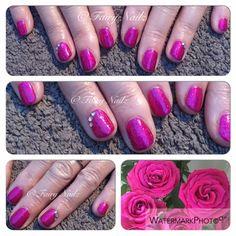 Fairy Nailz: #CNDShellac with Swarovski crystals