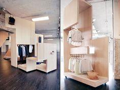COS Pop up shop, Milan store design Shop Interior Design, Retail Design, Store Design, Interior Design Living Room, Visual Merchandising, Window Display Retail, Retail Displays, Shop Displays, Window Displays