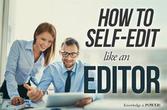 How to Self-Edit Like an Editor | Nessgraphica Blog
