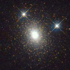Globular cluster near andromeda