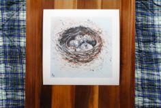 "Check this website out! God is good! ""Nest"" 10x10, Fine Art Print http://www.gratie.org/"