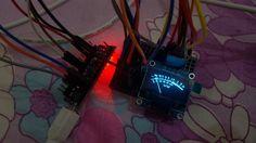 Analog VU Meter - I2C OLED SH1106 - OLEDMeter Animation