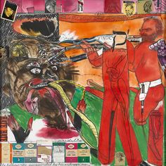 R.B. Kitaj. The Killer Critic Assasinated by his Widower, Life. 1997.