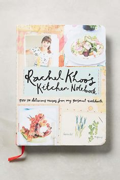 We'd love to take a page out of Rachel Khoo's Kitchen Notebook.