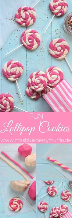 Lollipop Cookies // baking with kids <3