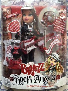 New in box Bratz Doll Yasmin Rock angelz Yasmin  wit hat version