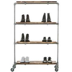 Shelf Roll - Reol på hjul - Ziito