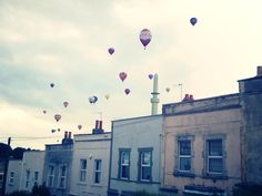 Totterdown, Bristol, Ashton Court Balloon fiesta