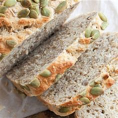 Try this Busy People's Bread recipe by Chef Annabel Langbein. This recipe is from the show Annabel Langbein: The Free Range Cook. Yeast Bread Recipes, Pastry Recipes, Cooking Recipes, Vegetarian Recipes, Healthy Recipes, Vegan Bread, How To Make Bread, Food Network Recipes, Love Food