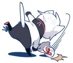 Mafumafu Sticker (cat) – LINE stickers Anime Neko, Cute Anime Chibi, Kawaii Chibi, Cute Anime Guys, Kawaii Anime, Vocaloid, Neko Girl, Dibujos Anime Chibi, Chibi Boy