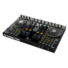 Native Instruments TRAKTOR KONTROL S4 DJ-Controller. This beast from Berlin is used by DJs all around the world.  http://www.electronic-star.eu - all around europe. Check us out.