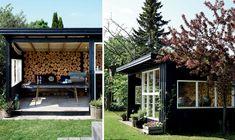 En dejlig oase fra april til september Cottage Homes, Cottage Style, Cosy Kitchen, Outdoor Rooms, Outdoor Decor, Hygge, Tiny House, September, Exterior