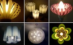 Decorative Lighting Design from Recycled Plastic Bottles Products by Sarah Turner « Decorative Lighting « Lighting « DESIGN WAGEN Crafts To Make, Arts And Crafts, Diy Crafts, Plastic Pipe Fittings, Diy Recycle, Reuse, Recycle Plastic Bottles, Recycled Bottles, Recycled Art